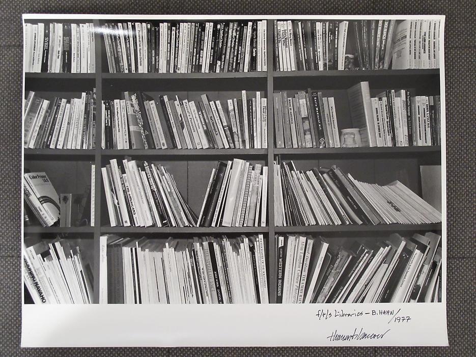 Thomas Barrow F/T/S Libraries - B. Hahn