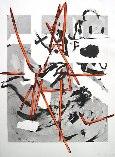 Untitled 2008 Charcoal, ink, and acrylic drawing on paper