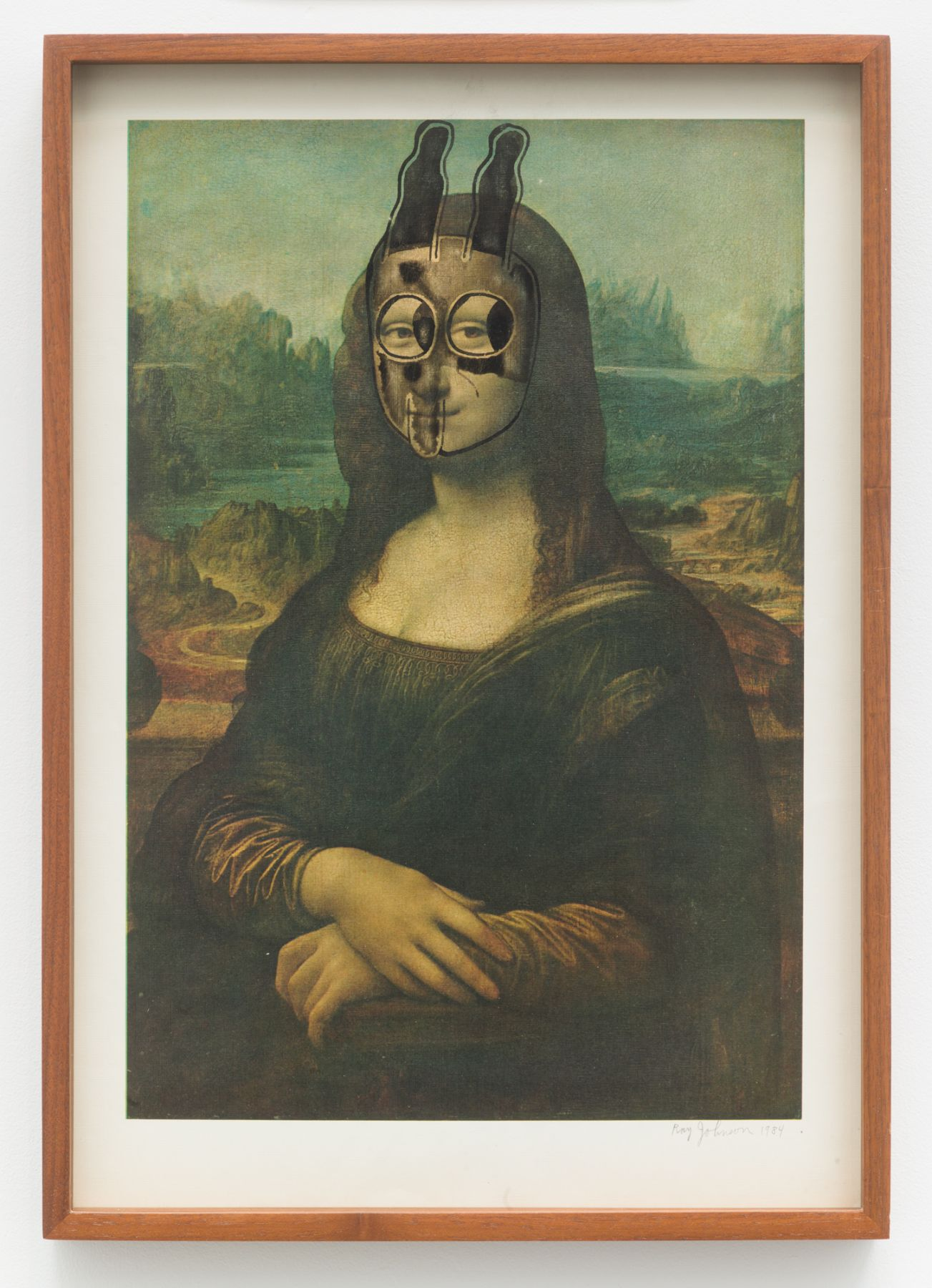 Ray Johnson, Untitled (Mona Lisa Bunny)