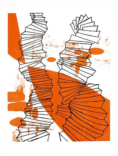 Untitled 2007 Acrylic, silkscreen on paper