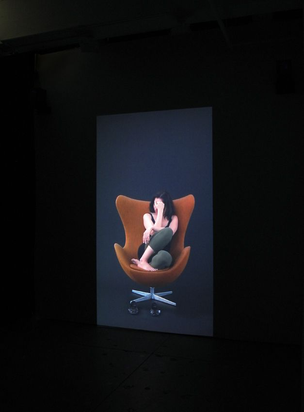 Andrea Fraser Projection