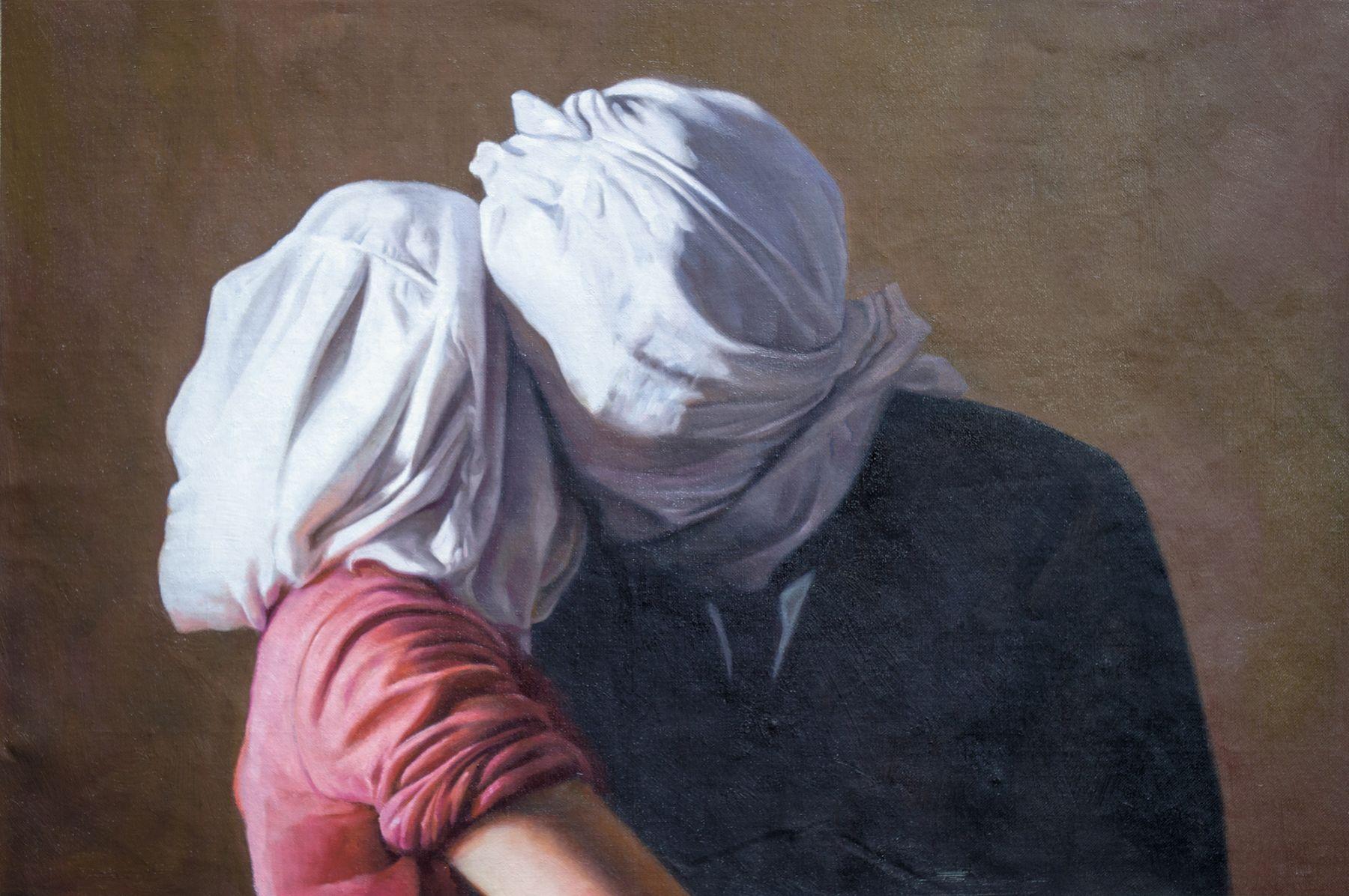 Christian Jankowski, Neue Malerei - Magritte II