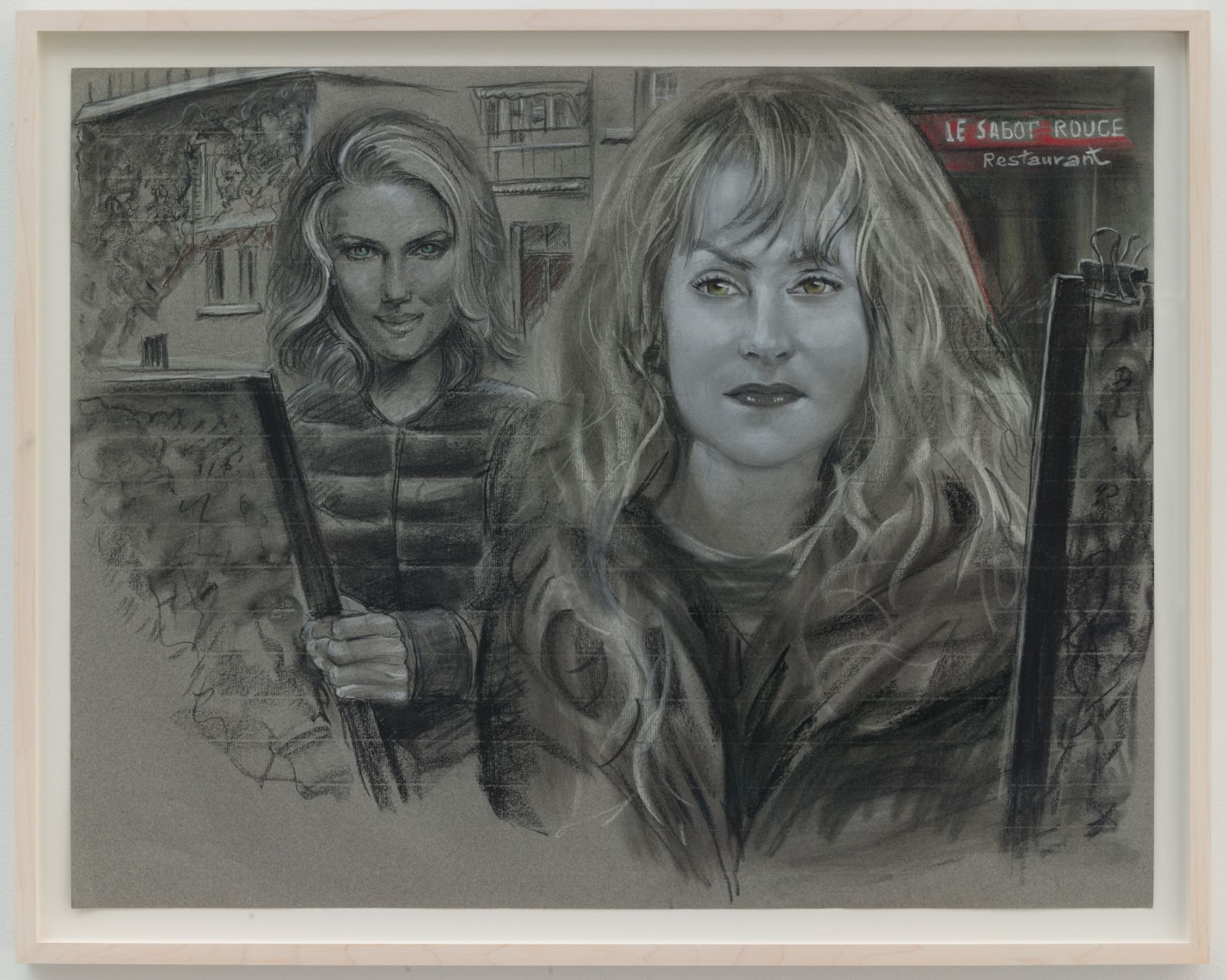 Christian Jankowski, Isabelle Huppert - Scarlett Johansson