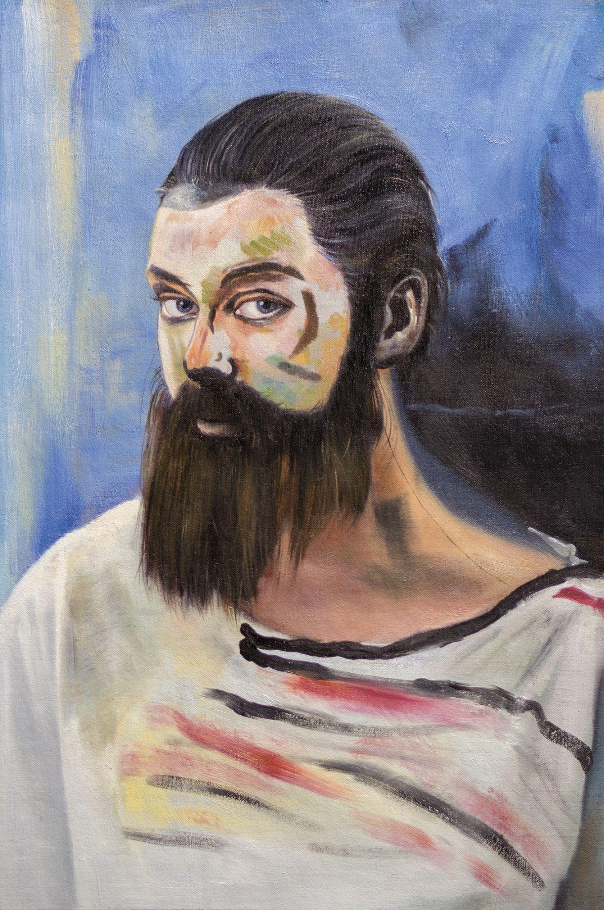 Christian Jankowski, Neue Malerei - Matisse I