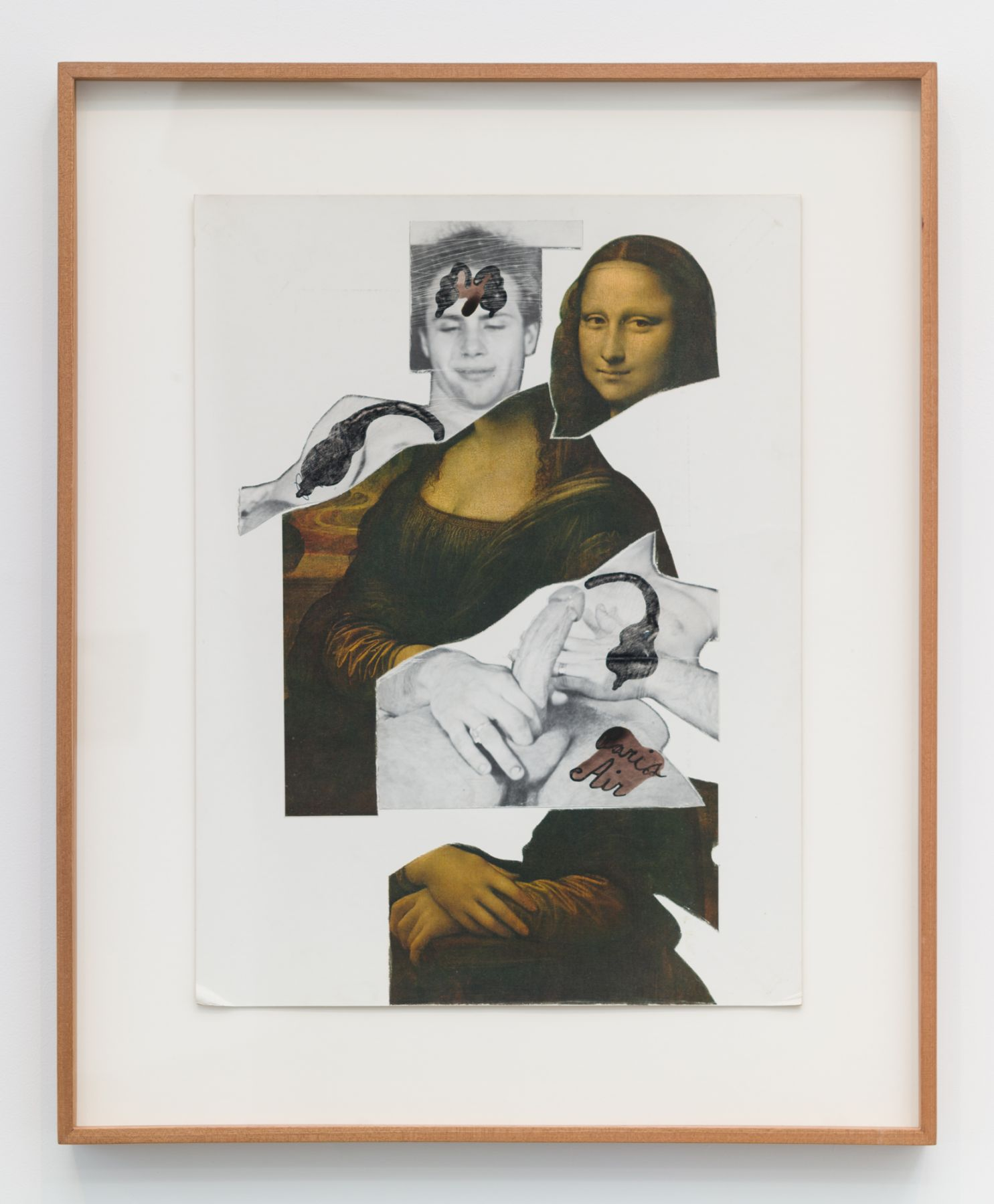 Ray Johnson, Untitled (Mona Lisa Graphic Print)