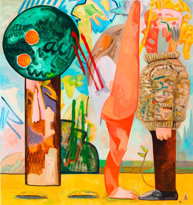 Hop 2012 Oil on canvas