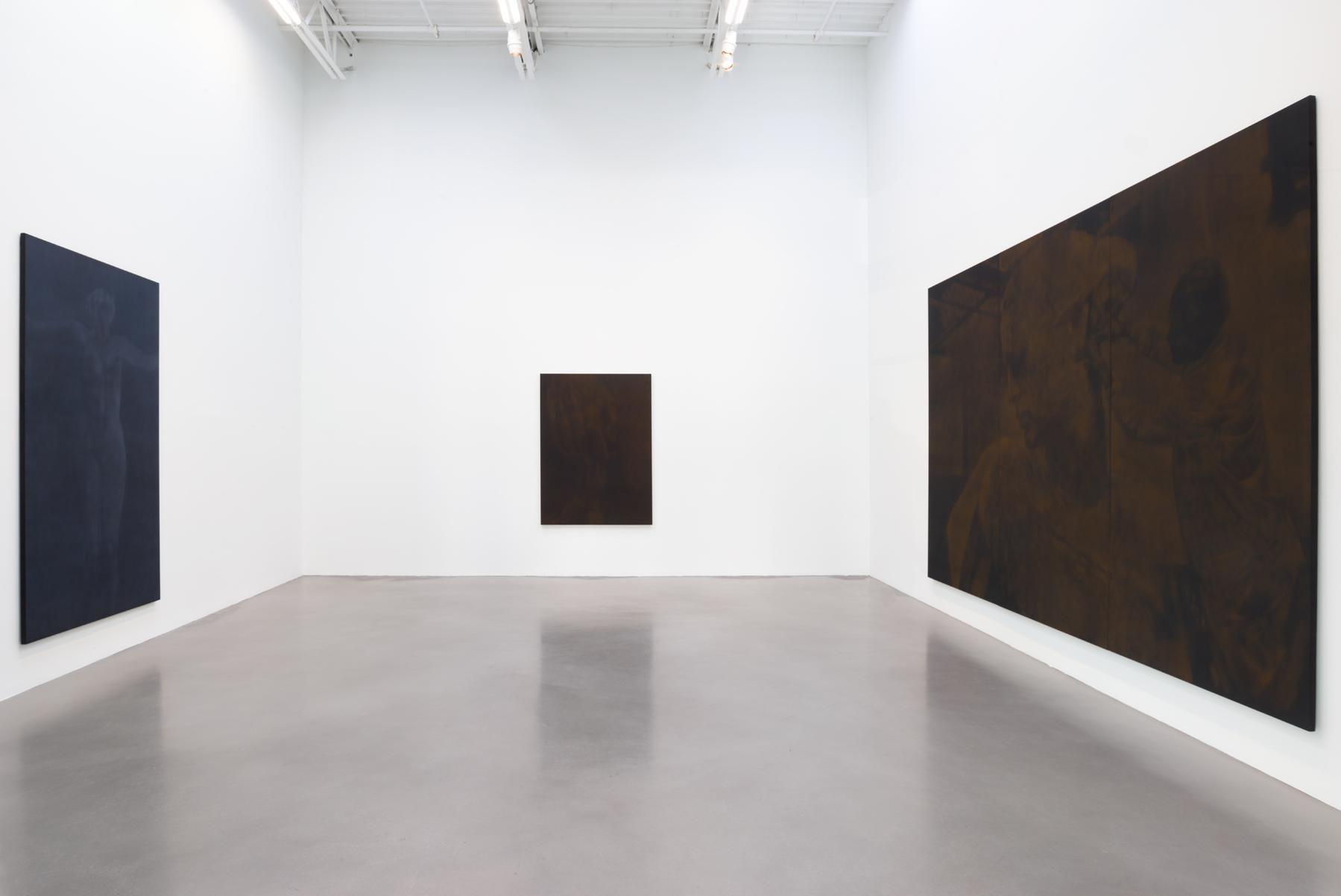 Troy Brauntuch Installation view 2