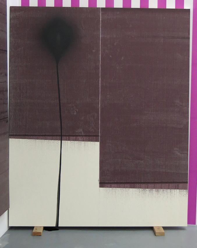 Wade Guyton, Untitled 2013, Epson UltraChrome inkjet on linen