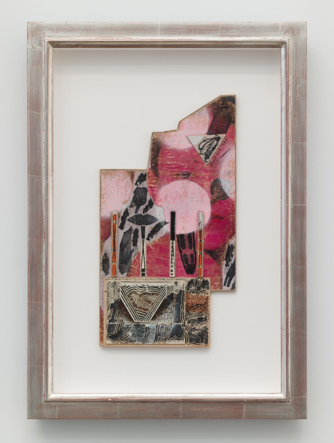 Ray Johnson, Untitled (Pink Model)