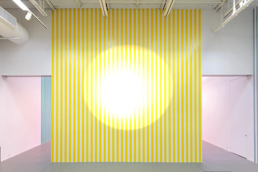 Projection, Work In Situ 2013 (Ref. Gerry Schum Group Exhibition at Louisiana Museum Humlebaek, January 1972)