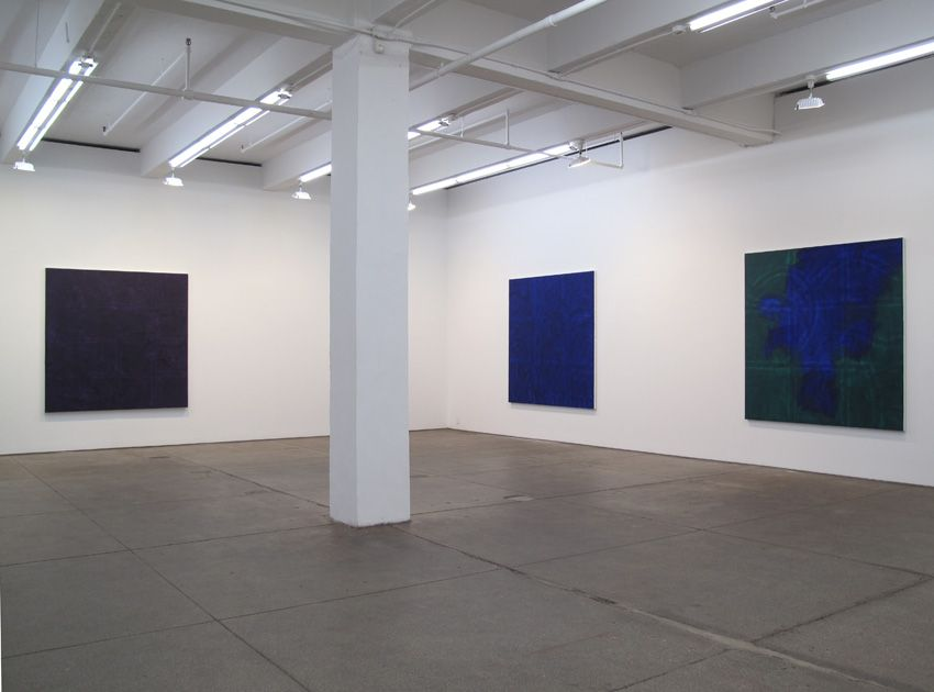 Installation view Friedrich Petzel Gallery, New York