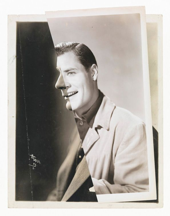 He (Film Portrait Collage) III