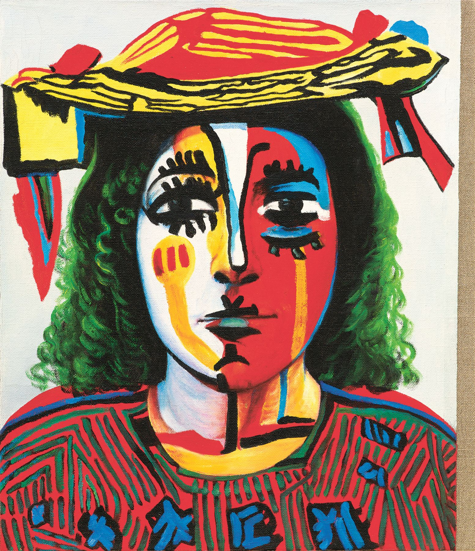 Christian Jankowski, Neue Malerei - Picasso IV