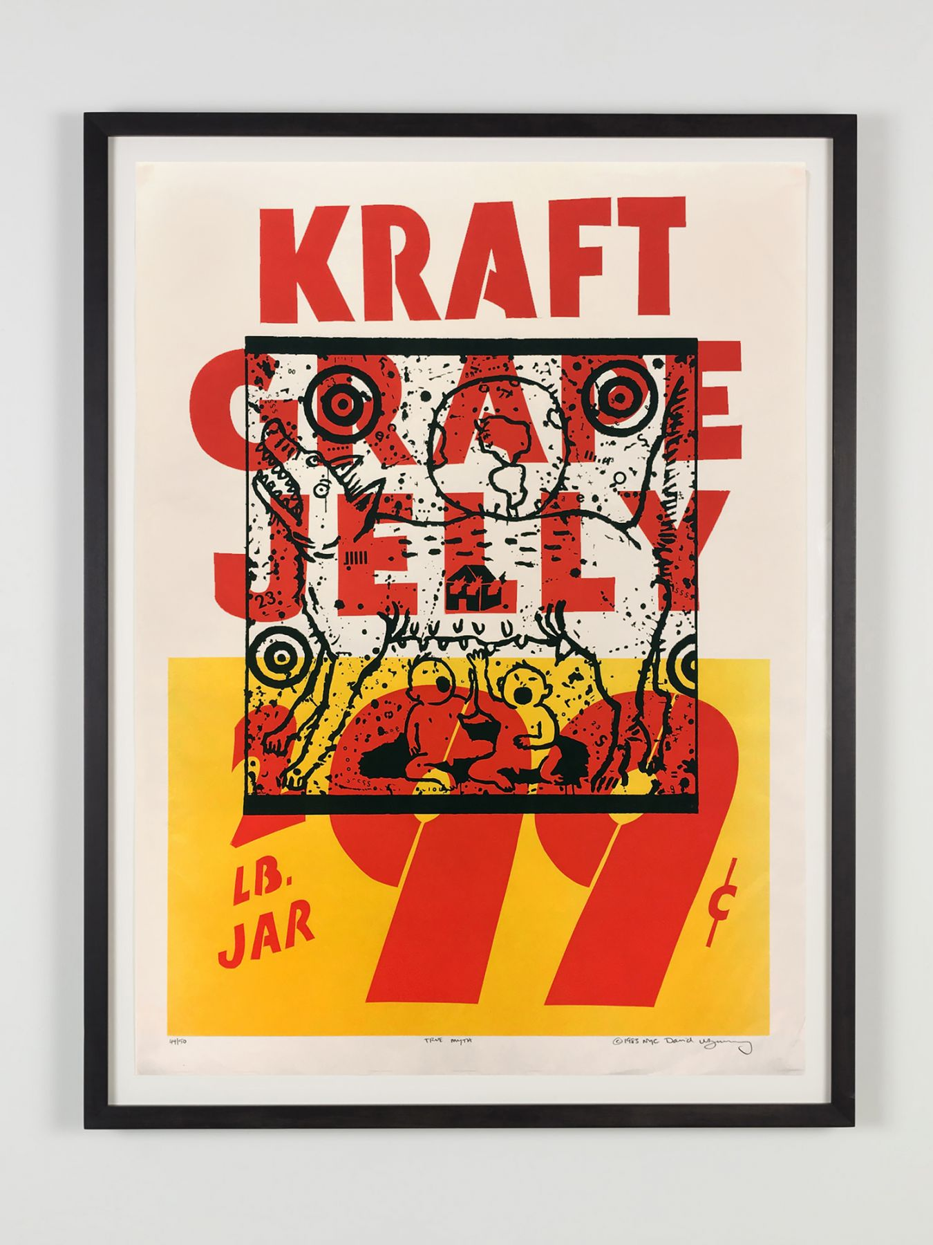 David Wojnarowicz, True Myth (Kraft Grape Jelly)