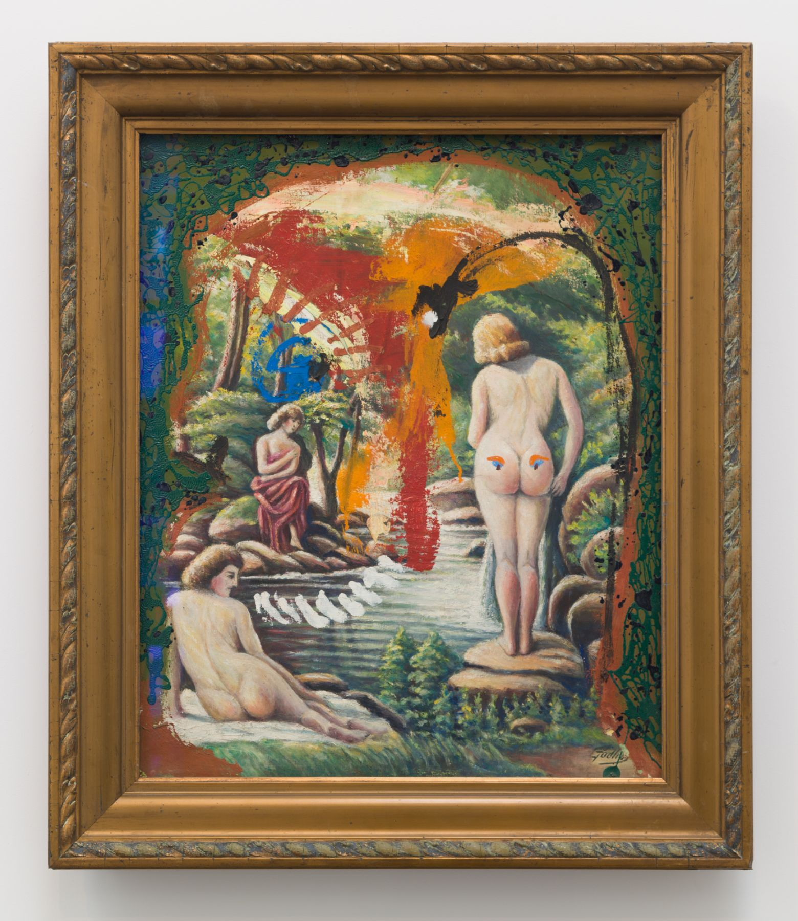 Asger Jorn, Untitled (Bathers)
