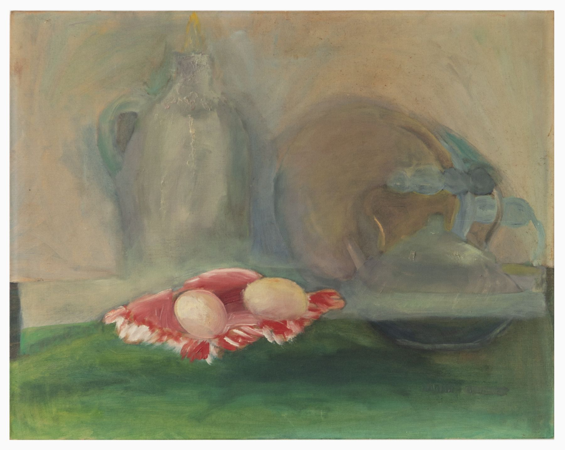 Gedi Sibony, Still Life with Eggs