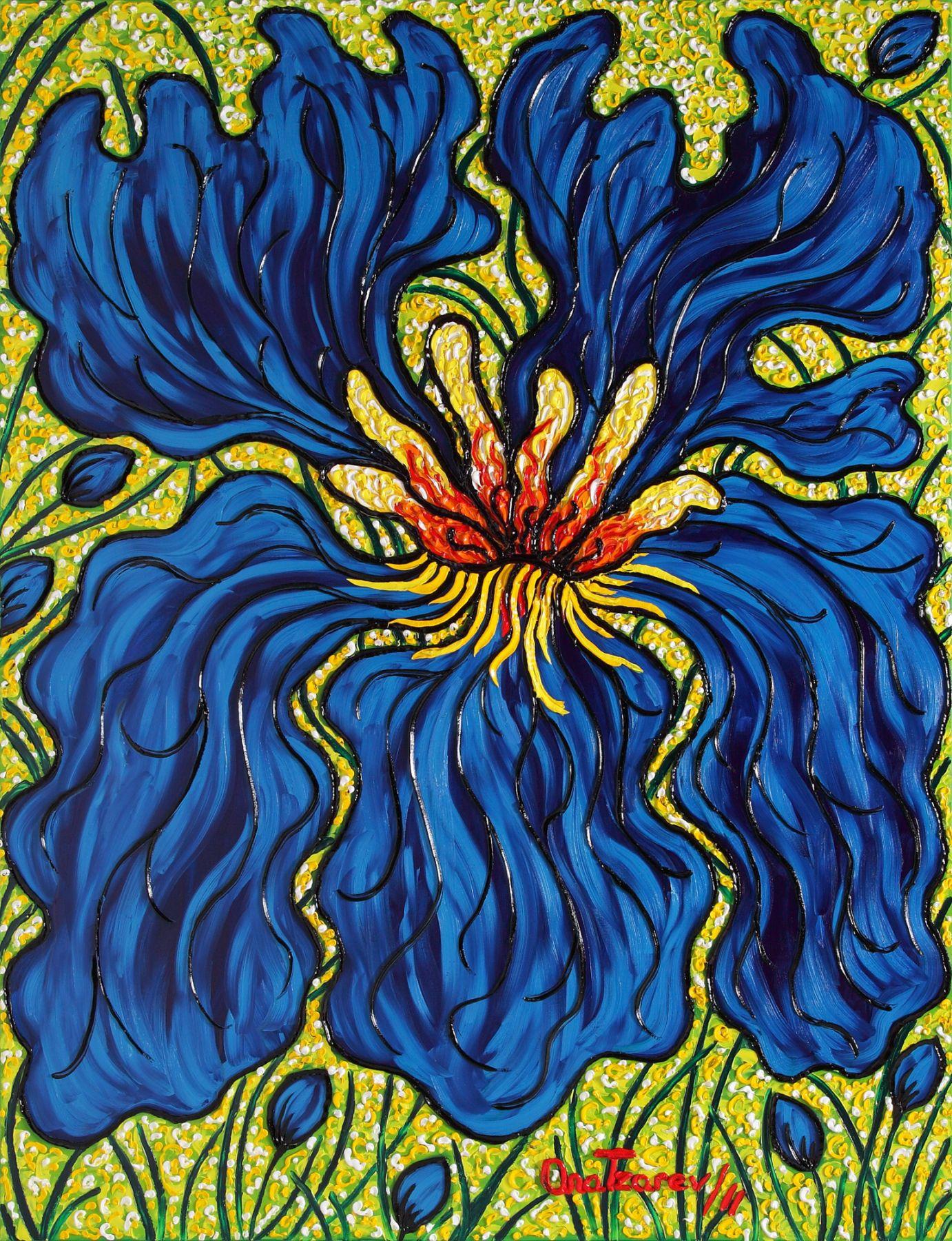 Infatuation (Iris) (Garden-La Fleur du Cap), 2011 - 4194