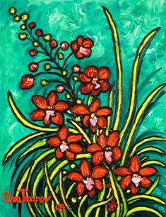 Gift of Spring - Ascocentrum Curvifolium Lindl., 2009 n3653