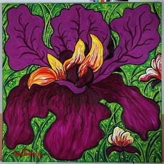 Emperatrice (Hibiscus) (Garden La Fleur du Cap), 2011 n 4070