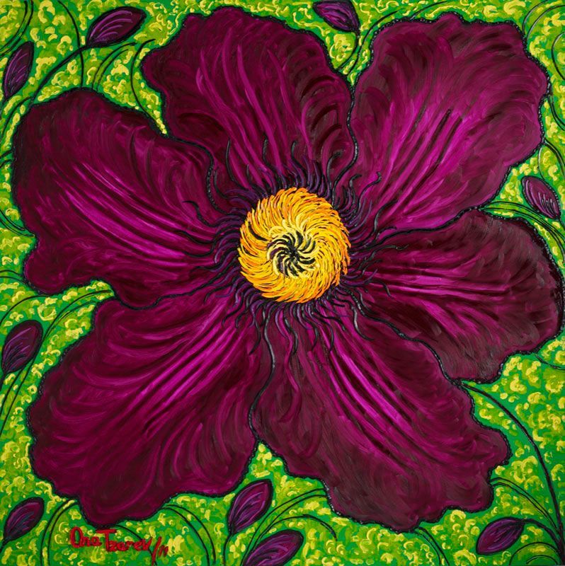 Purple Velvet (Clematis), 2011 n 4221