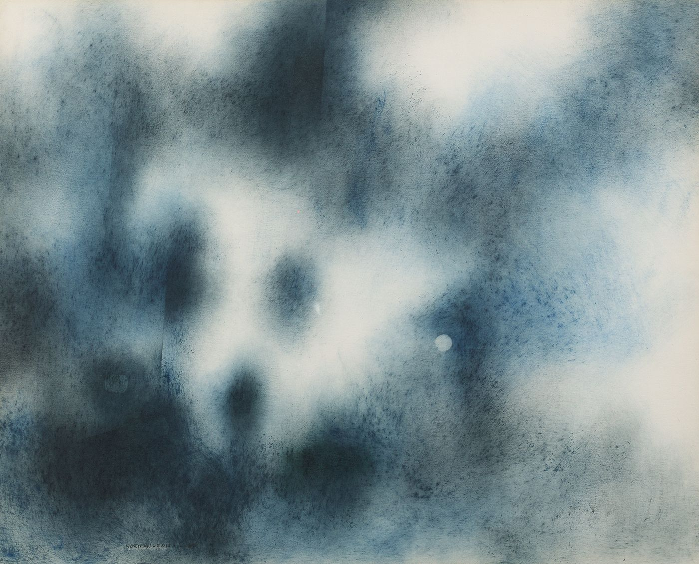 Norman Lewis (1909-1979), Composition in Blue Tones, 1960