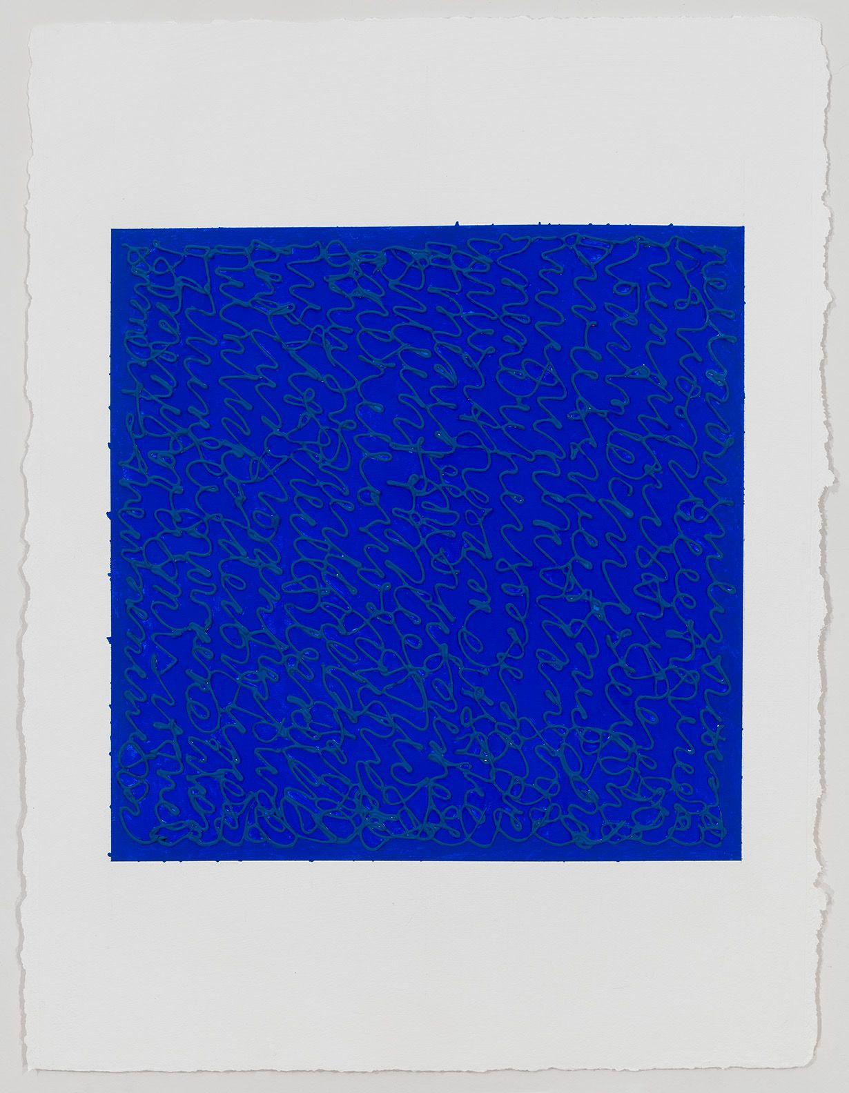 Louise P. Sloane, UltraBlue, 2019