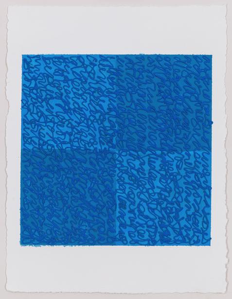 Louise P. Sloane, Blues 2, 2017