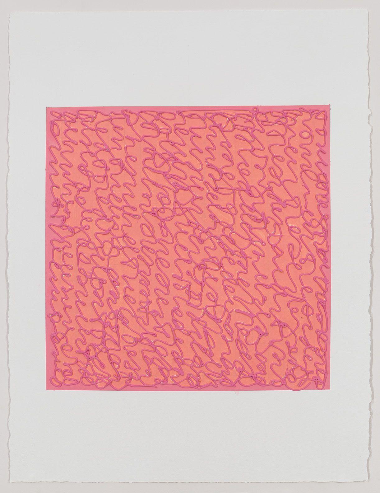 Louise P. Sloane, Pink Kiss, 2019