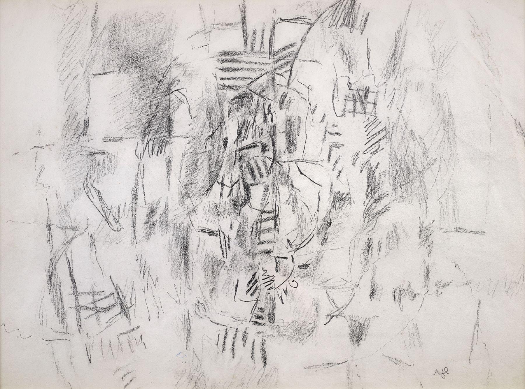 Roy Lichtenstein, Pop Art, Cubist drawing