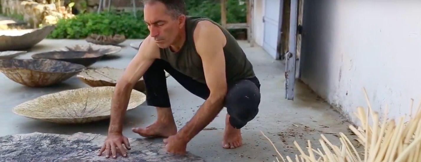Ohad Tsfati Making Moon Wall Hangings