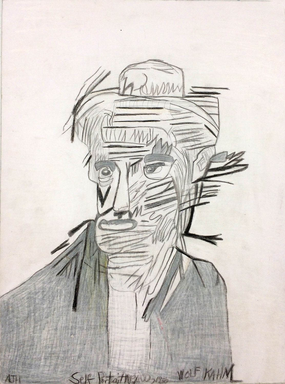 Andrew Hostick, Wolf Kahn Self Portrait 1956, 2012