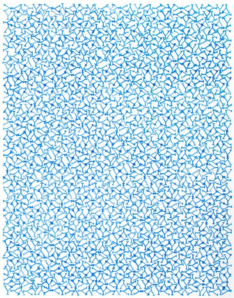 John Salvest, Blue Y, 2010