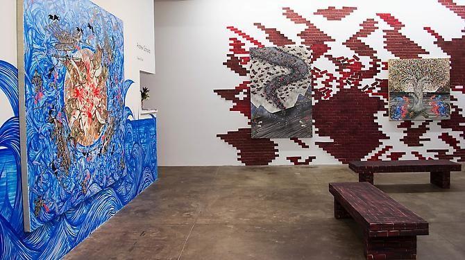 Andrew Schoultz: New Work, Sept. 5 - Oct. 12