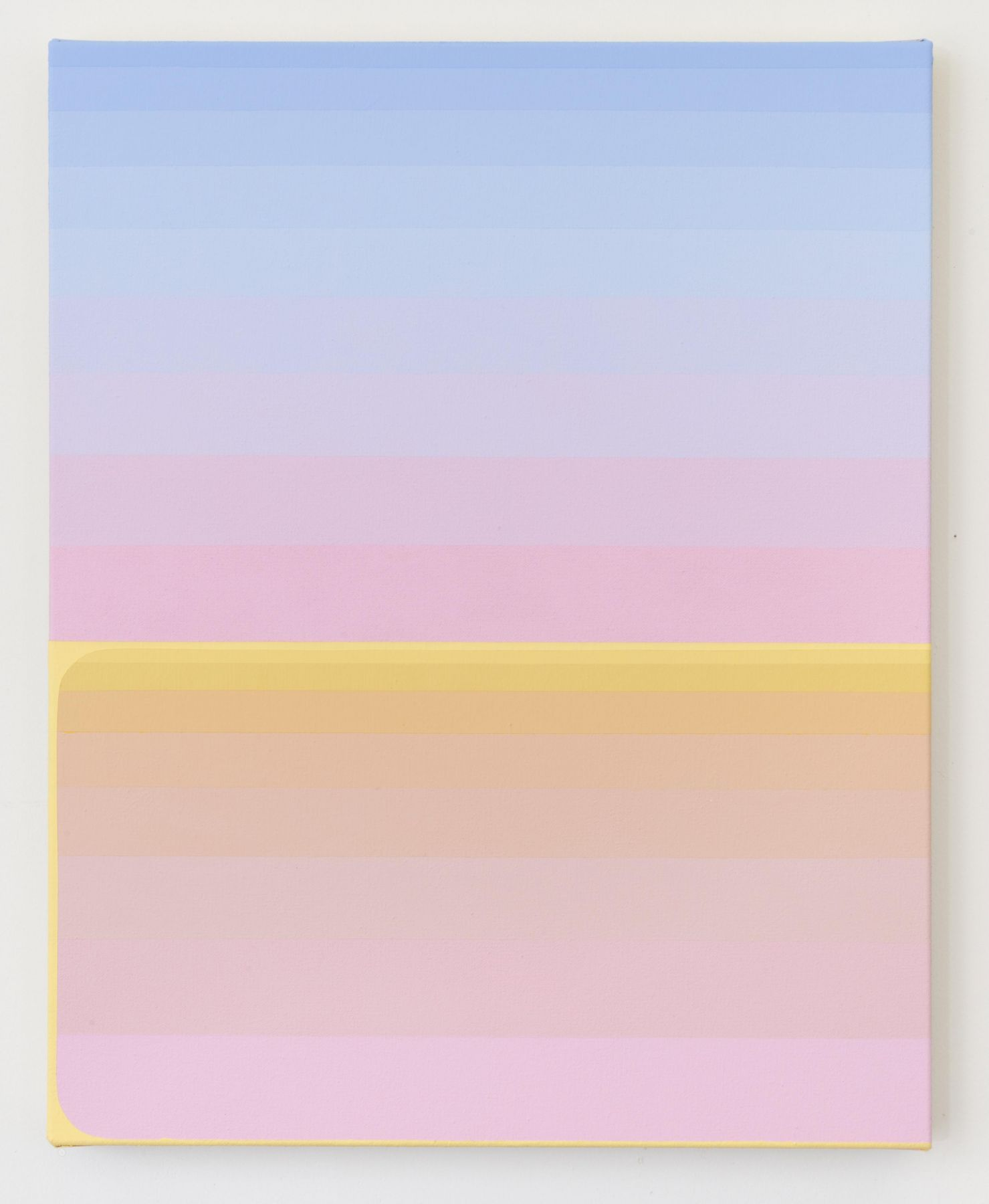Audrey Stone, Yellow Hold, 2018