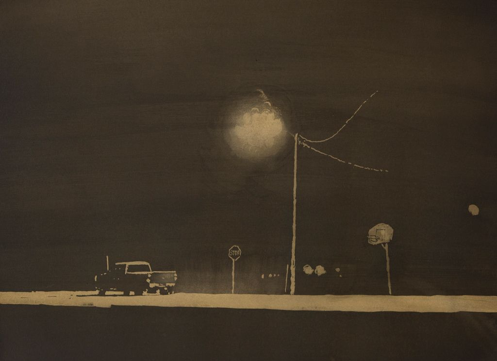 David Rathman , Stations Starting To Fade, 2014