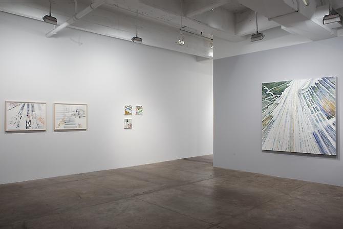 Installation image from Judith Belzer: Edgelands