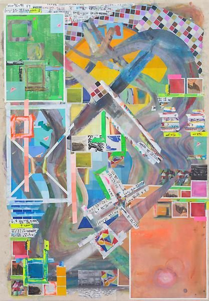 archescape, 2014, Acrylic on canvas, 65 x 45 1/4 inches, 165.1 x 114.9 cm, A/Y#21656