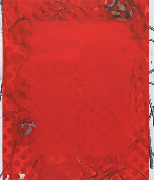 Red Wedding, 2014, Acrylic, oil, and UV cured ink on canvas over panel, 84 x 72 inches, 213.4 x 182.9 cm, A/Y#21418