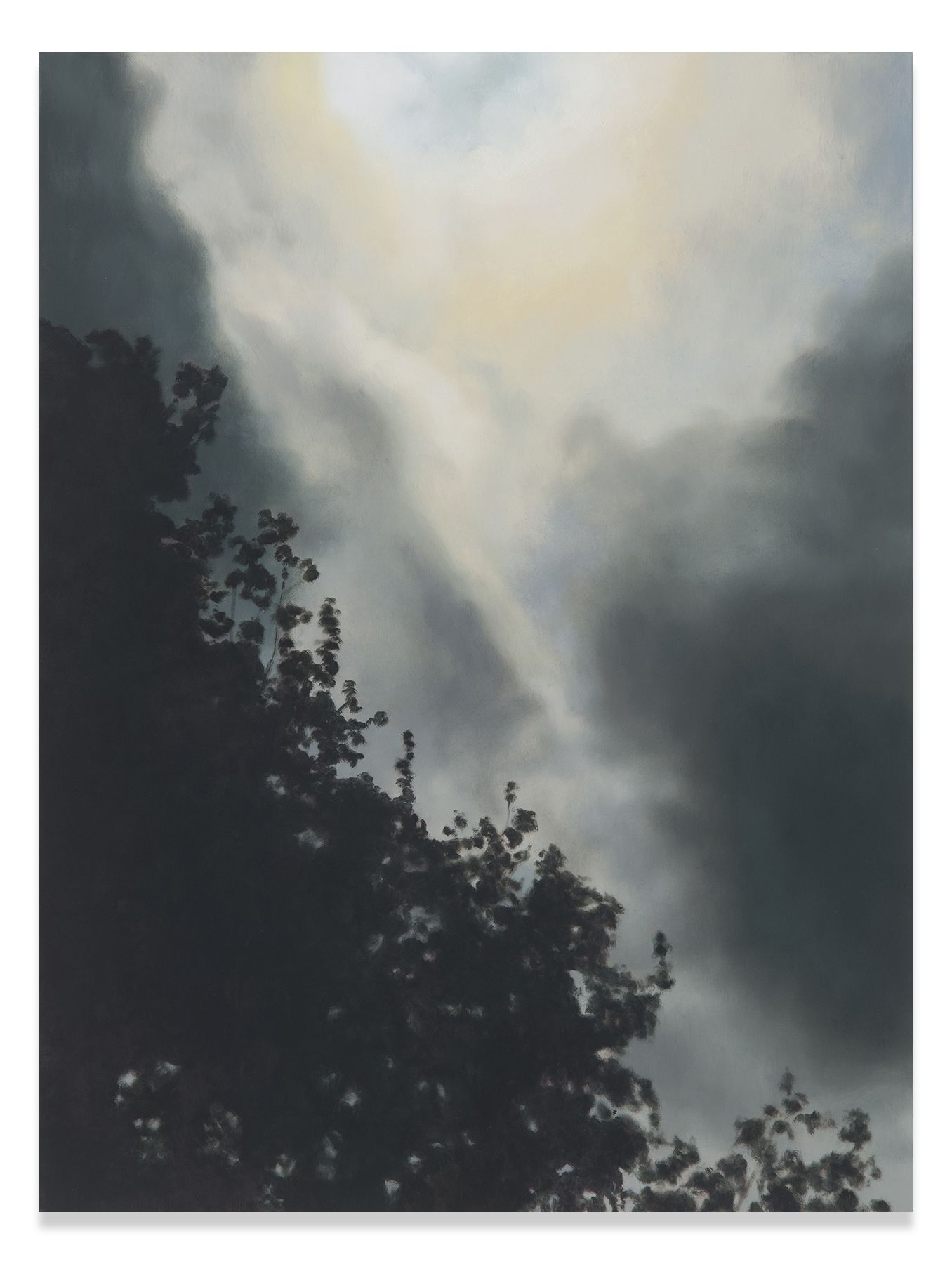 Creation Storm, 2017, Oil on linen, 32 x 24 inches, 81.3 x 61 cm, MMG#30412
