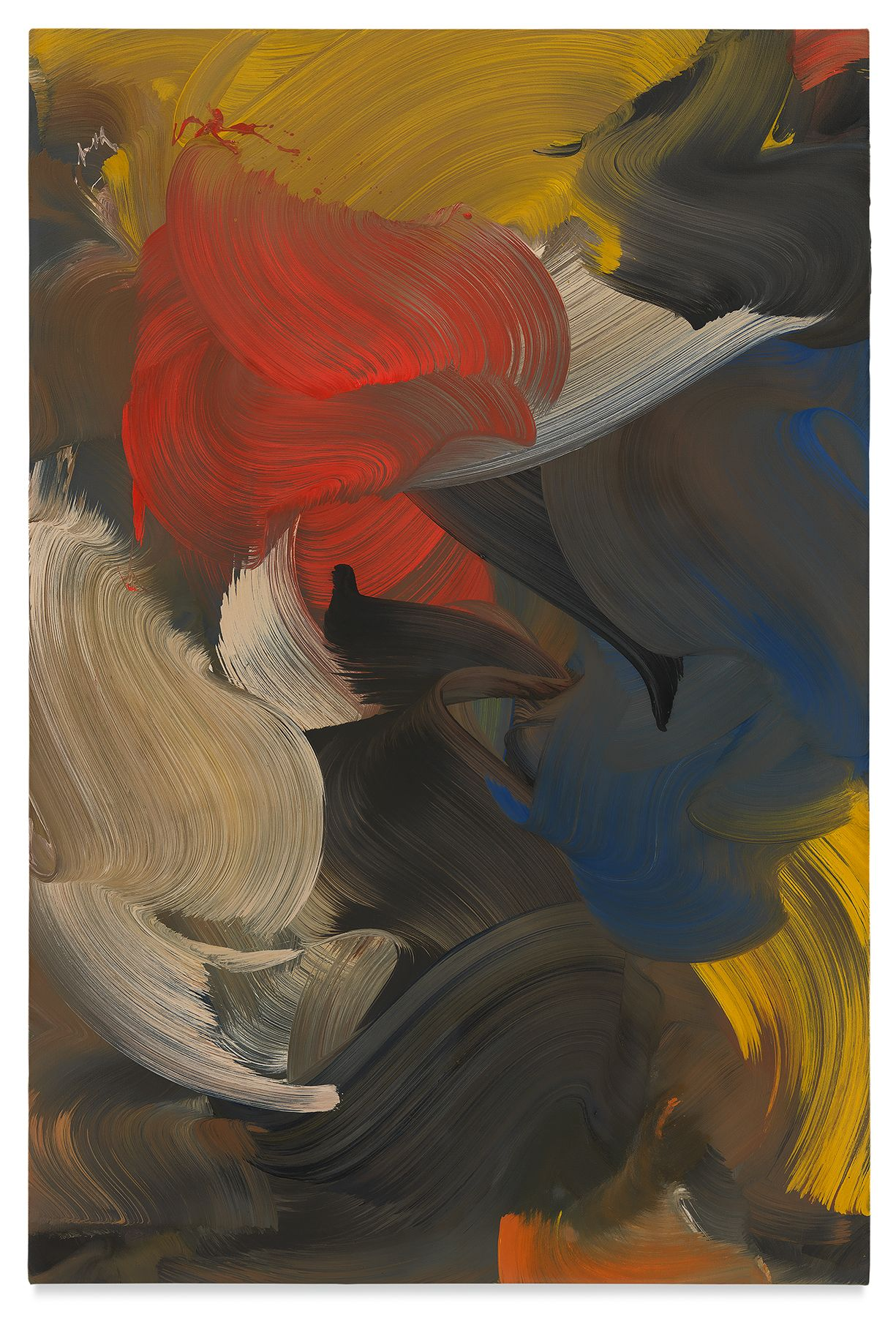 trickster, 2019,Oil on canvas,59 x 39 3/8 inches,150 x 100 cm,MMG#30965