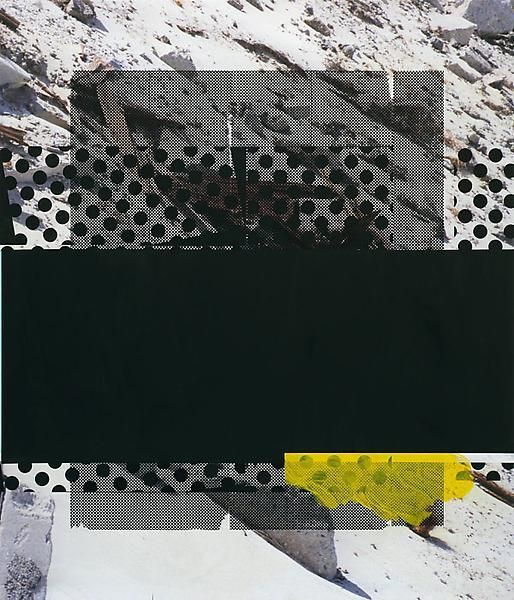 Black Water, 2014, Acrylic, oil, and UV cured ink on canvas over panel, 84 x 72 inches, 213.4 x 182.9 cm, A/Y#21420