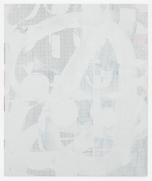 Kevin Appel, Composite 7 (brick), 2016, Acrylic, oil, and UV cured ink on canvas over aluminum