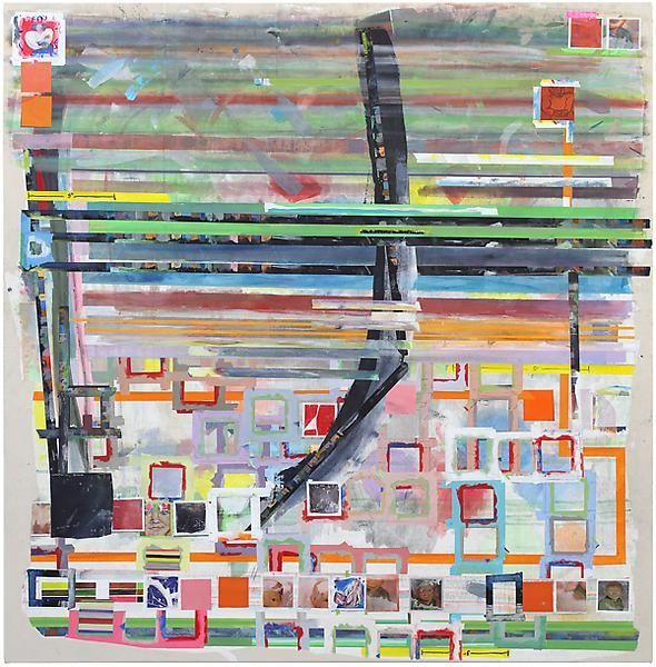 matisseasirwinorange, 2014, Acrylic on canvas, 68 x 67 inches, 172.7 x 170.2 cm, A/Y#21480