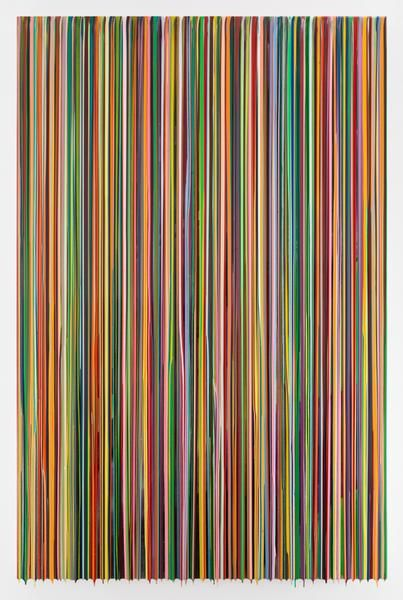IREMEMBERMISSINGPHOTOS, 2016, Epoxy resin and pigments on wood, 90 x 60 inches, 228.6 x 152.4 cm, AMY#28373