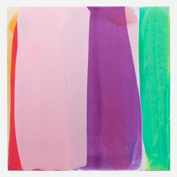 Movements (impulse 2), 2016, Acrylic on linen, 30 x 30 inches, 76.2 x 76.2 cm, AMY#28156