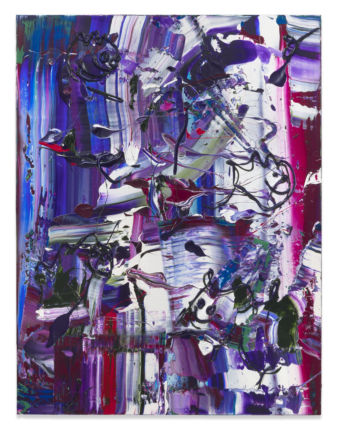 Michael Reafsnyder, Sweet Falls, 2019, Acrylic on linen
