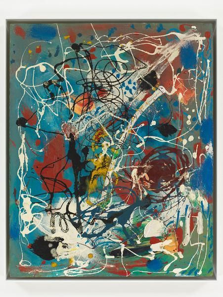 Hans Hofmann, Rhythmic Composition No. 1, c.1952, Oil on panel, 20 x 16 inches, 50.8 x 40.6 cm, A/Y#19953
