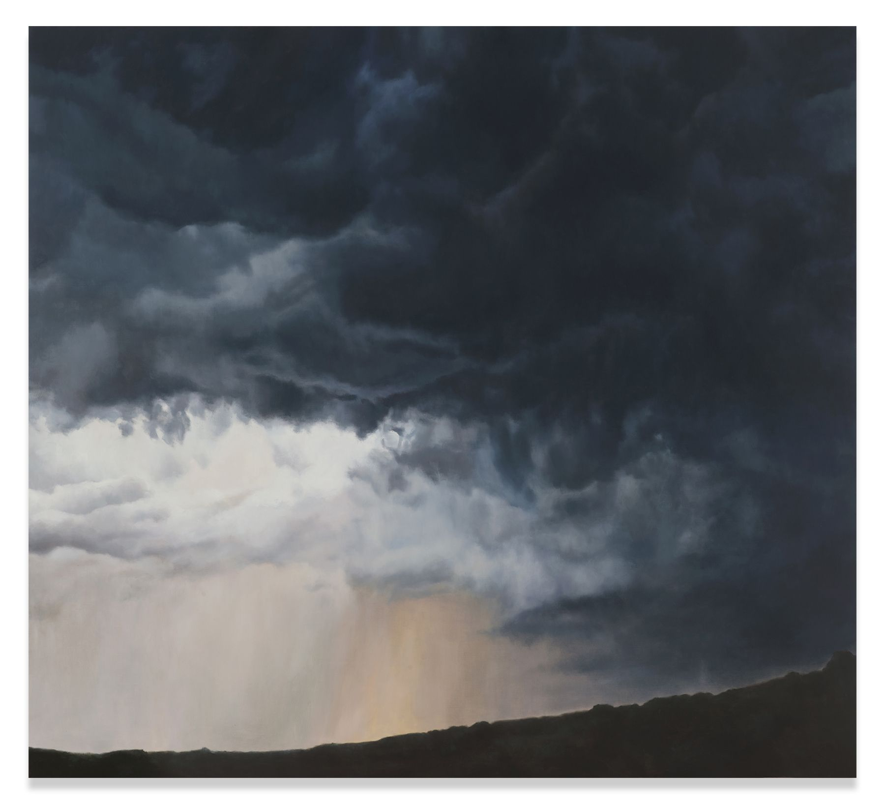 Big Storm Light, 2016,Oil on linen,70 x 77 inches,177.8 x 195.6 cm,MMG#30409