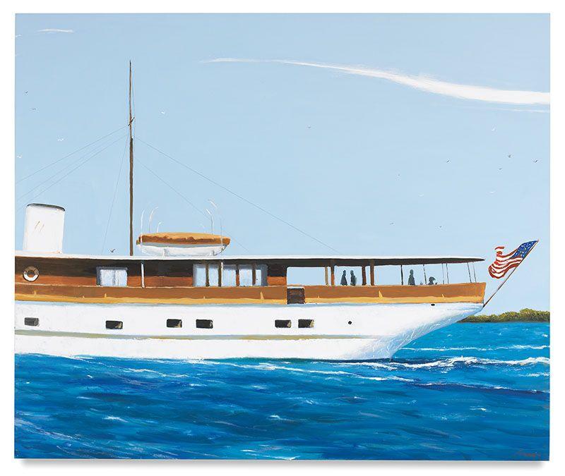 The Innisfail on the Santa Ana, 2016, Oil on canvas, 60 x 72 inches, 152.4 x 182.9 cm, MMG#28064