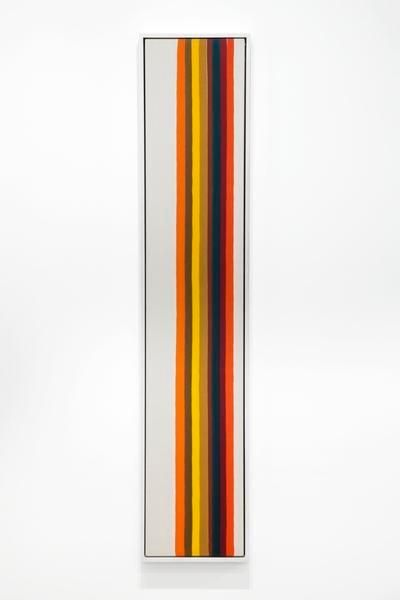 Morris Louis, Number 1-36, 1962, Magna on canvas, 79 x 15 inches, 200.6 x 38.1 cm, A/Y#22202